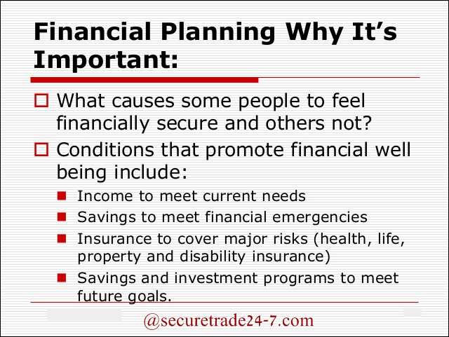 Financial Planning Why It Is Important Via Secure247trade