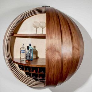 Corner Wall Mounted Drinks Cabinet Modern Bar Cabinet Wall Mounted Bar Bar Cabinet Design