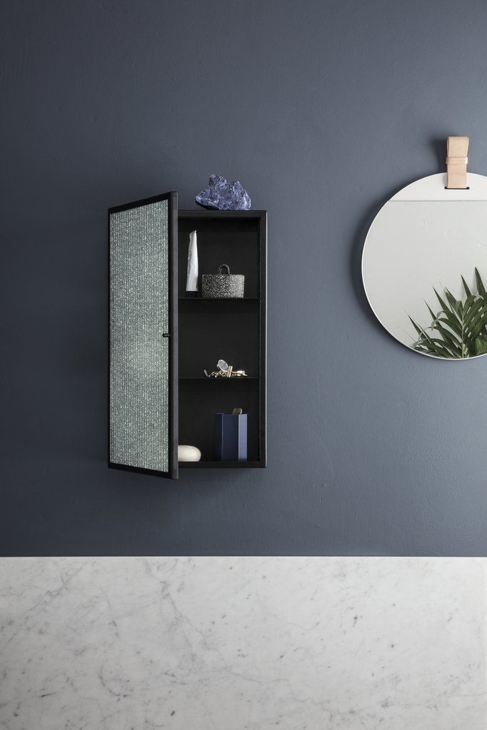 Haze Wall Cabinet By Ferm Living Mirror Wall Living Room Mirror