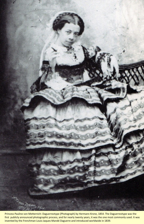 Princess Pauline Clémentine von Metternich Pauline, Old