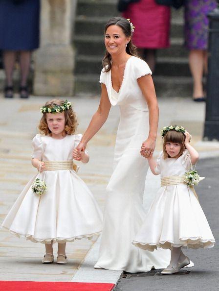 Real Royal Wedding Album: Kate Middleton & Prince William | Maids ...