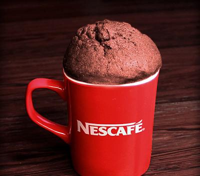 E hookah كيك بالنسكافيه Nescafe, Mugs, Baking