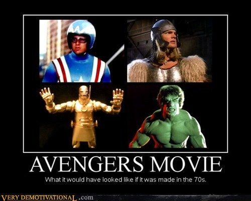 Avengers Movie - 1970s Version