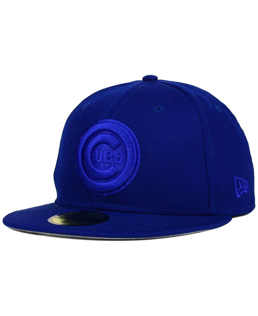 New Era Chicago Cubs Ton-Wool 59FIFTY Cap  f362f3676e5