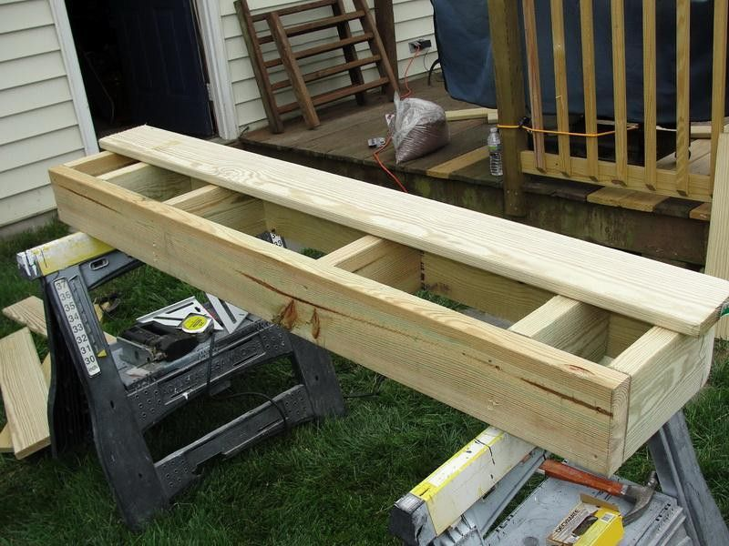 Pin By Andre Ivanovic On How To Build Deck Step By Step