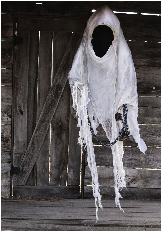 hanging ghost lantern