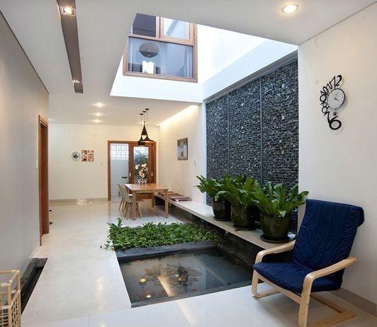 Opcion Para Tener Area Verde En La Casa Interiores De Casa