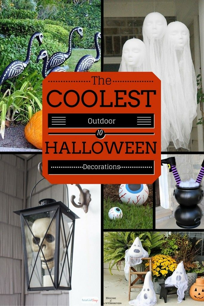 The coolest outdoor Halloween decorations featured on Princess Pinky Girl