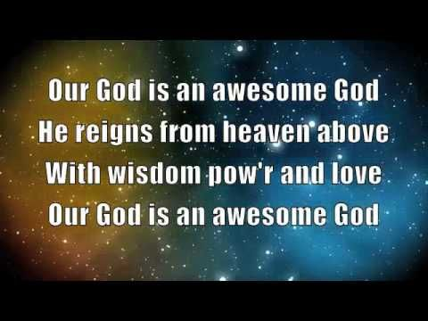 My God Is An Awesome God Lyrics And Chords Hqdefault Jpg With