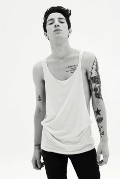 Skinny Tall Guys With Tattoos Google Search Hot People
