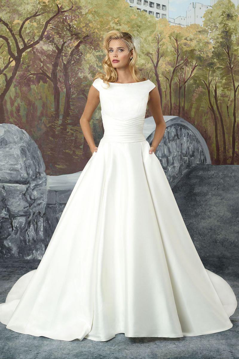 Sabrina Neckline Dress