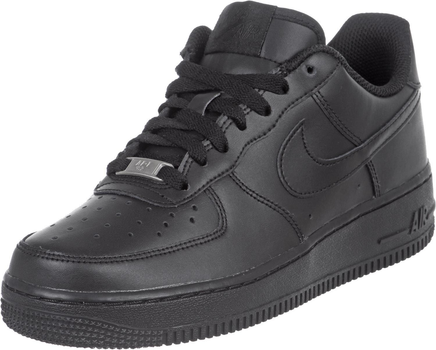 code promo 24b8f 454cc Nike Air Force 1 Femme Youth noir Pas Cher | SHOES | Nike ...
