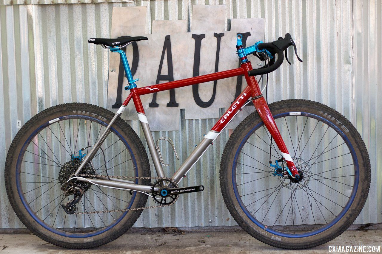 First Ride: Caletti Cycles\' Titanium Monster Cross | Graphics