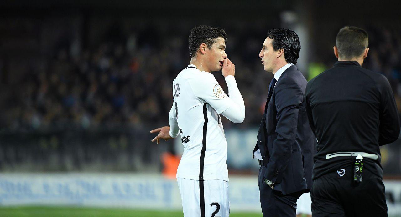 PSG : entre Thiago Silva et Emery le courant ne passe plus... https://t.co/hg2RyJeQz0 via @via_ouest