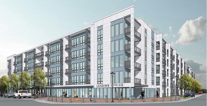 A new apartment proposal has been made for lot 11 of