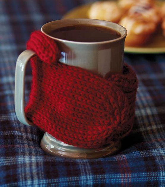 Mitten Mug Cozy, free pattern!! So cute! | Knitting | Pinterest ...