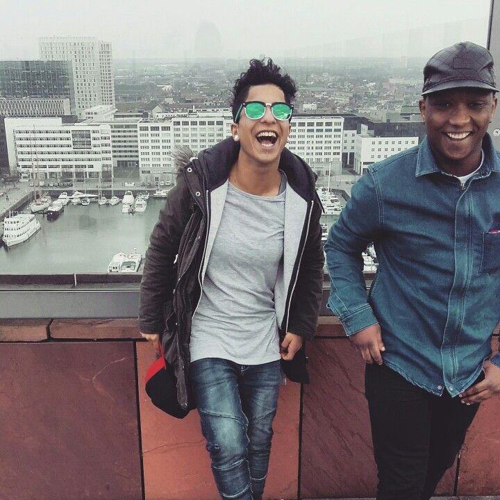 ✔ #laugh #friend #Antwerpen #good #vibe