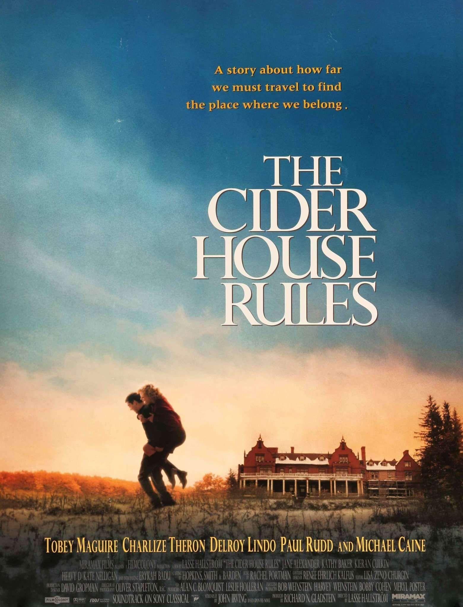 Cider house rules 1999 cider house rules cider house