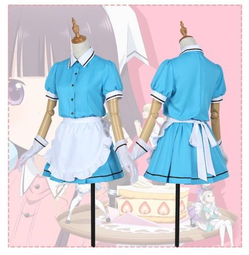 Blend-S-Anime-Maika-Sakuranomiya-Kaho-Hinata-Maid-dress-Outfit-Cosplay -costume f367262f5b0f