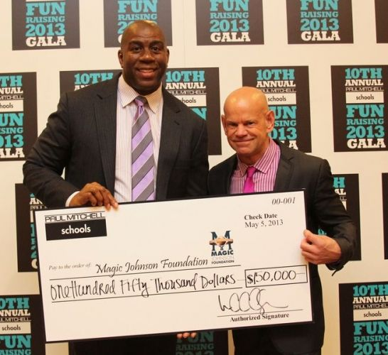The Temple - Magic Johnson Surprises School Owners at May Summit