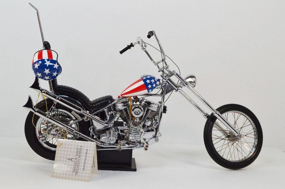 franklin mint harley davidson ultimate chopper motorcycle. Black Bedroom Furniture Sets. Home Design Ideas