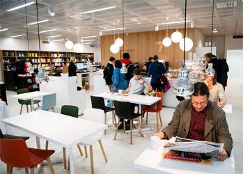 Admissions Cafeteria Helsinki University