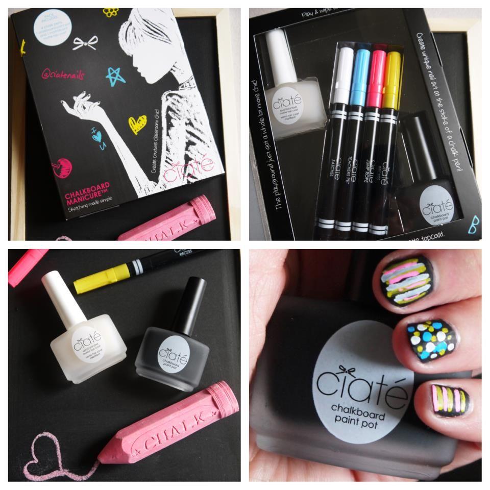 Ciate Chalkboard Manicure Happy Nails Nail Art Hacks Nail Kit