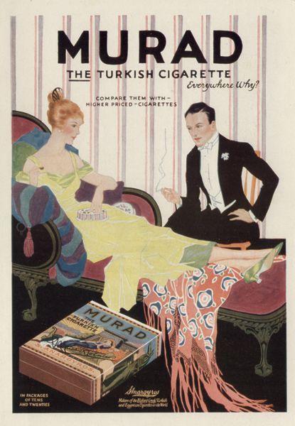 Murad Cigarette ad