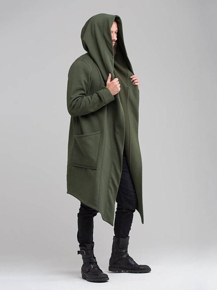 73d8014382 European Hooded Long Men s Trench Coat – hebedress.com