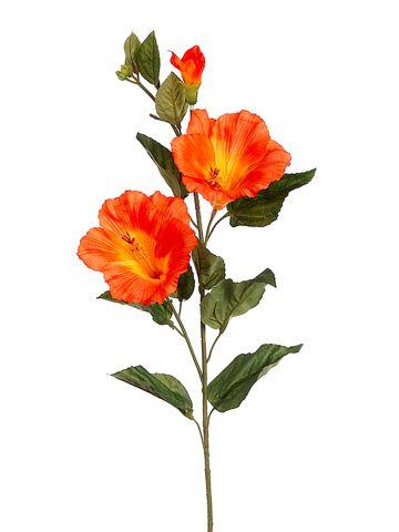 Large Ginger Flower Tropical Stem Artificial Silk Latex Flowers Long Spray