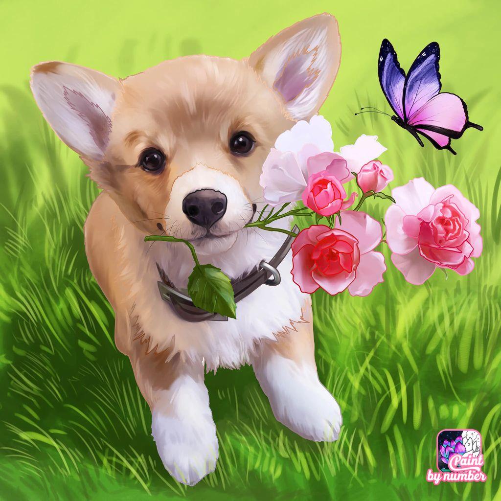 Pin By Martyna Zubrzycka On Grafika In 2020 Cute Dogs Dogs Cartoon Wallpaper Iphone