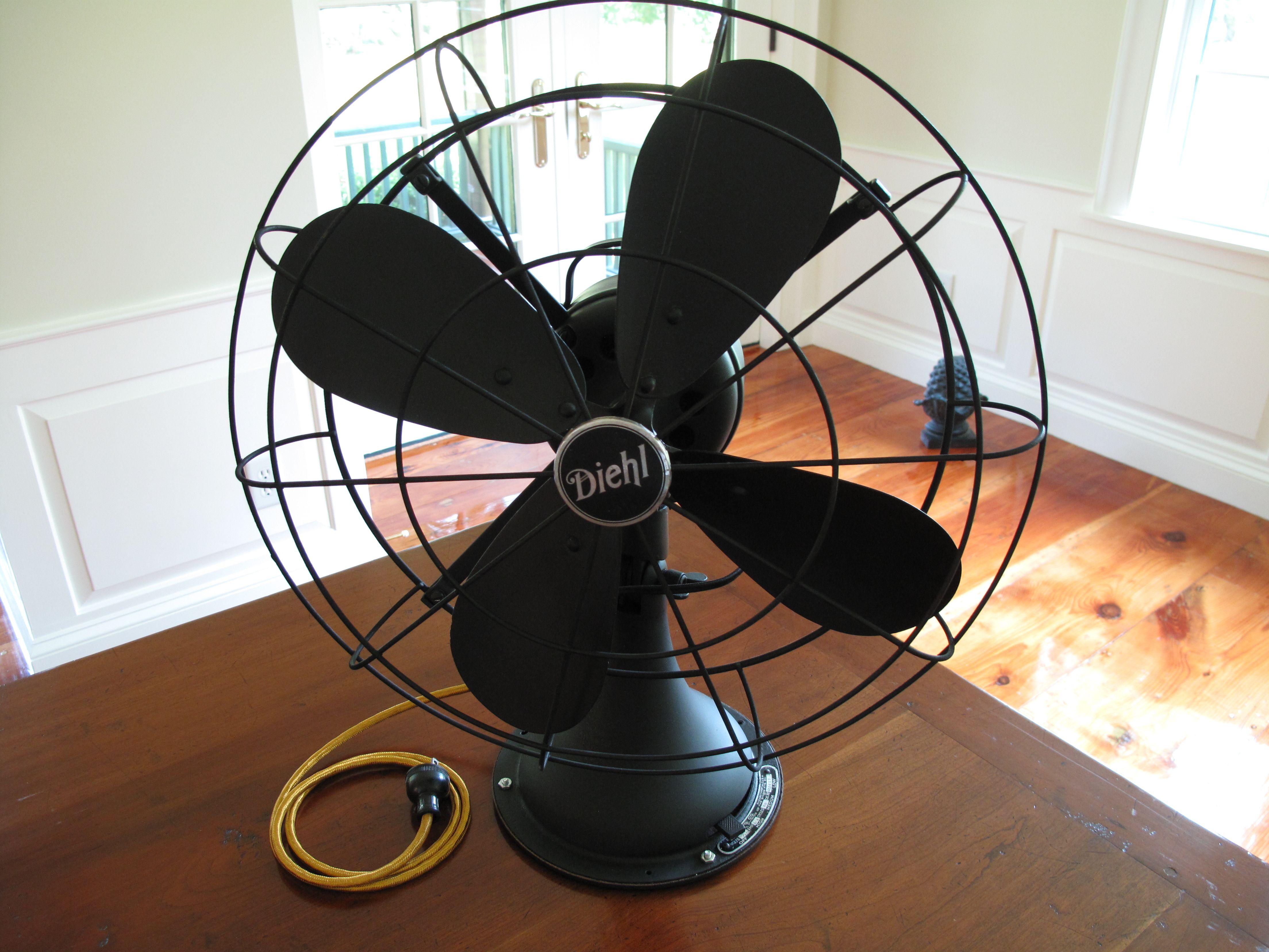 Diehl 1920s Desk Fan