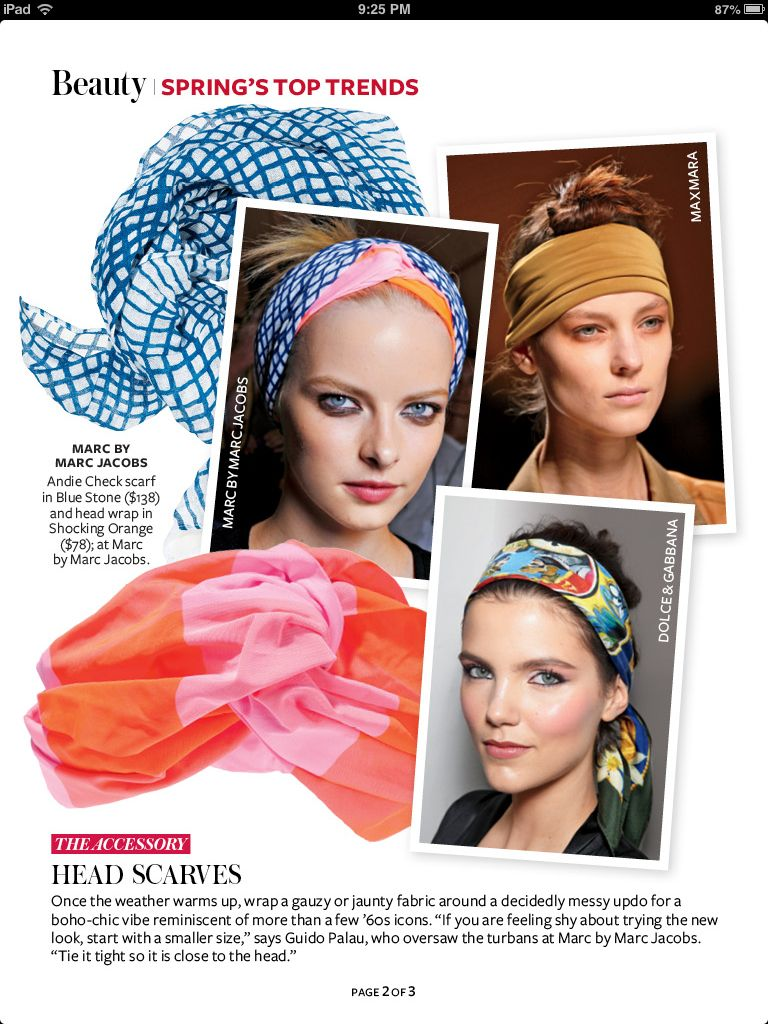 Head scarves scarf hairstyles ways to wear a scarf