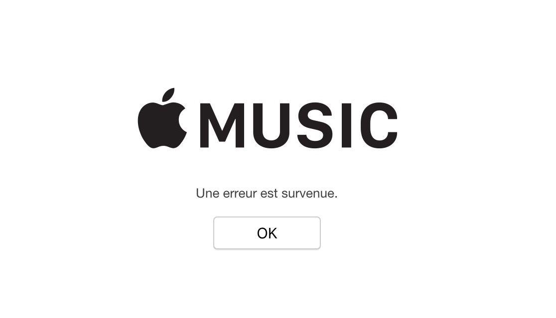 App Store Apple Music Mac App Store : plusieurs services dApple sont en panne chez certains