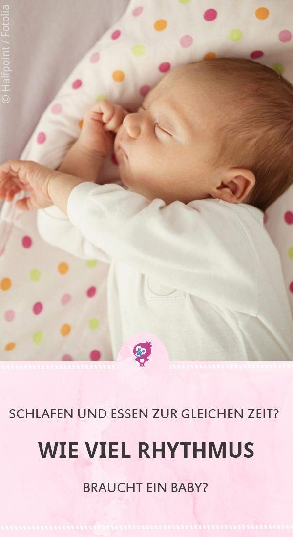 Wie viel Rhythmus braucht ein Baby? #baby #erziehung #schlafen