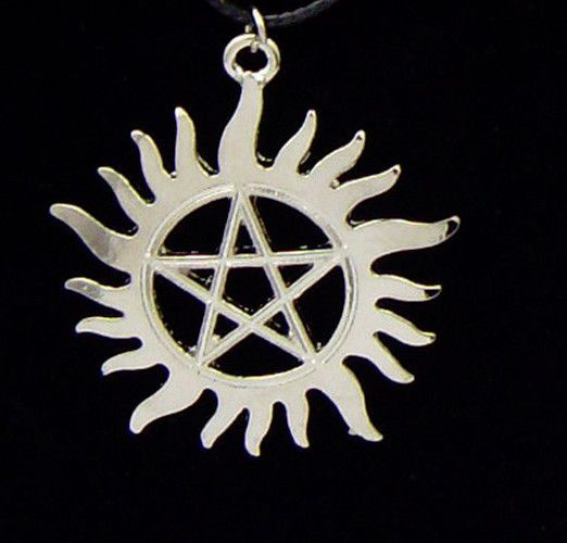 Supernatural Anti Possession Symbol Tattoo Necklace Supernatural