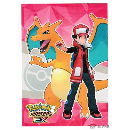 Pokemon Center 2020 Red Charizard Pokemon Masters Ex Sticker 1 Pokemon Pokemon Red Pokemon Stickers