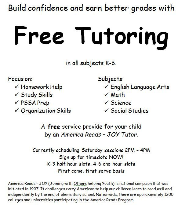 Tutoring Flyer Template Penny Pinterest Flyer Template