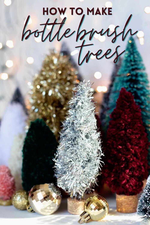 Diy Bottle Brush Trees Canada Diy Fynes Designs In 2020 Bottle Brush Trees Christmas Decorations Diy Outdoor Christmas Crafts