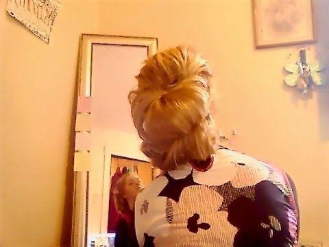 Quick Easy Big UpdoHairstyle YouTube Pentecostal Hair - Big bun hairstyle youtube
