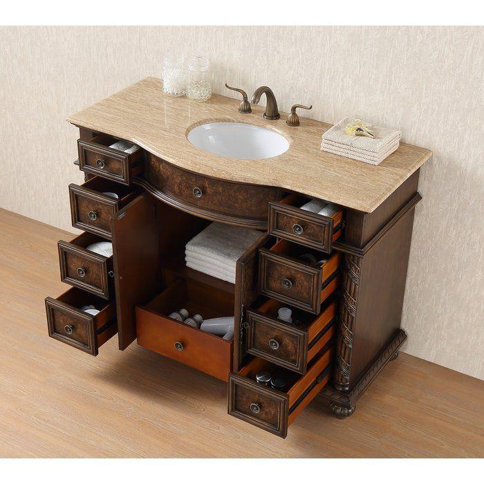 "Tammi 48"" Single Bathroom Vanity Set | Single sink vanity ..."