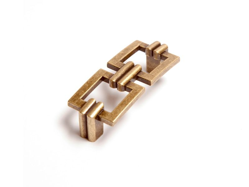 Cabinet Hardware | ALEXANDER MARCHANT Bamboo Link Pull | Heavy ...