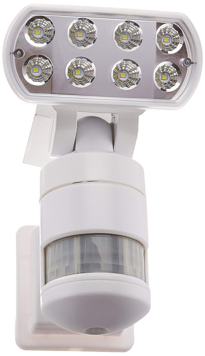 Creative Industries Nw500wh Night Watcher Security Light With Motorized Motion Tracking Led White C Outdoor Lighting Motion Activated Light Security Lights