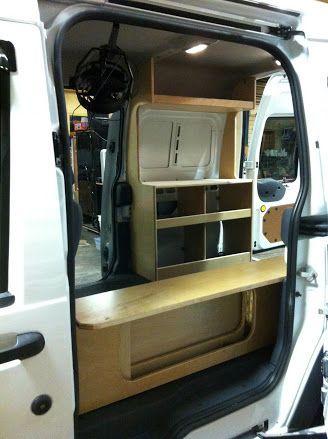 Photo: Ford Transit Connect Camper Van DIY flat pack Kit ...