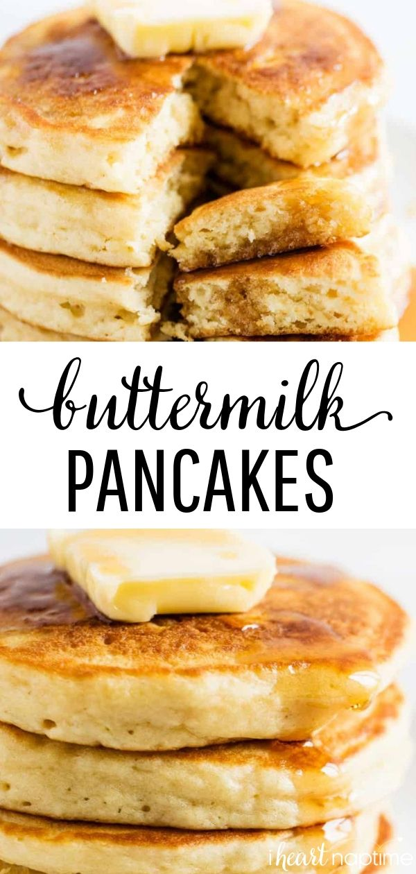 The Best Buttermilk Pancakes Soft Fluffy I Heart Naptime Recipe Savoury Cake Buttermilk Recipes Pancake Recipe Buttermilk