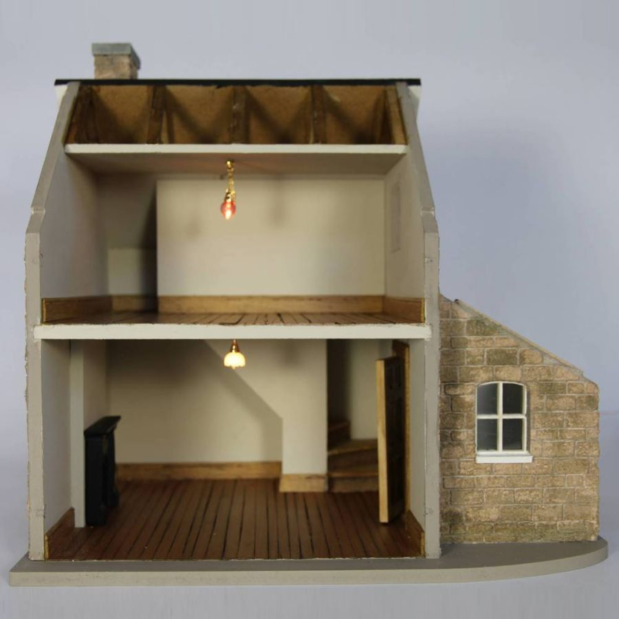 Bdh0524 Kit Homes House Doll House