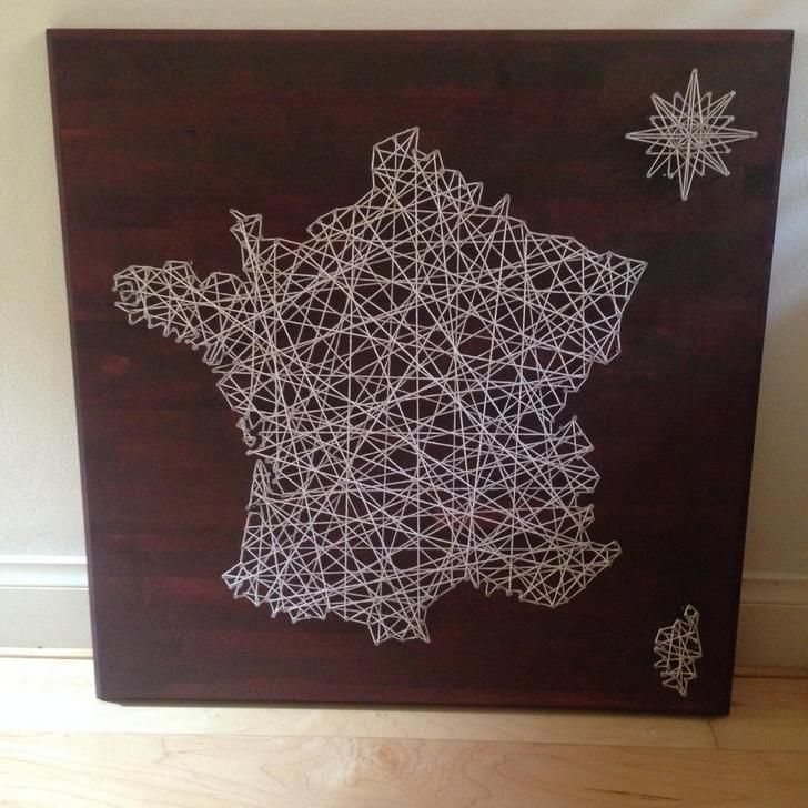 DIY String art | Diy string art, String art and Album