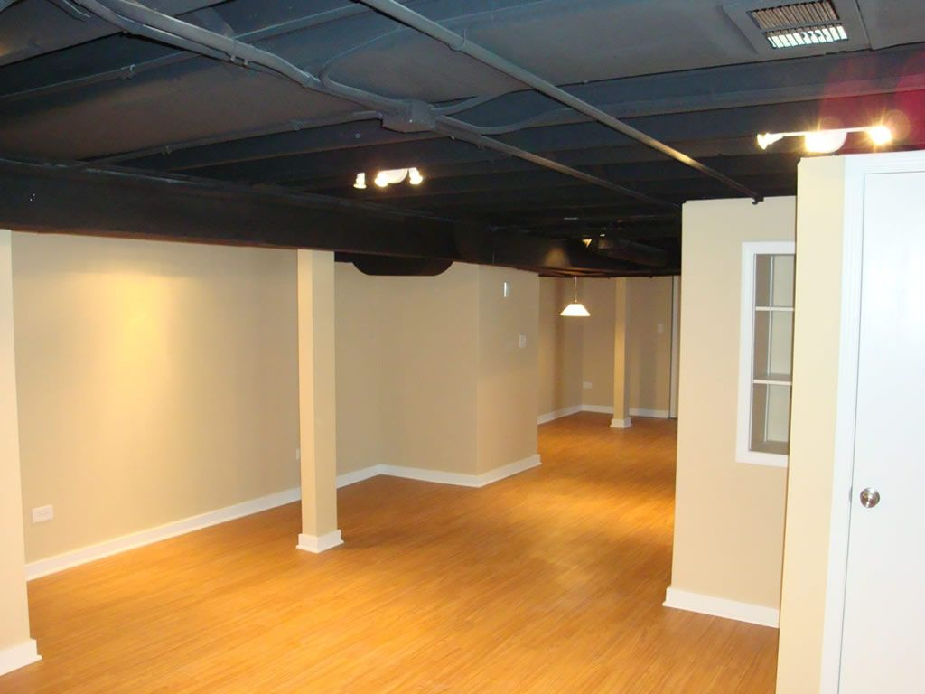 Low Ceiling Basement Remodeling Ideas Keeping It Functional In Lake Forest Ilthis Basement Interior