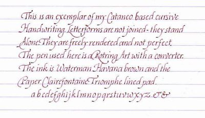 italic handwriting letterform characteristics and construction crafts. Black Bedroom Furniture Sets. Home Design Ideas
