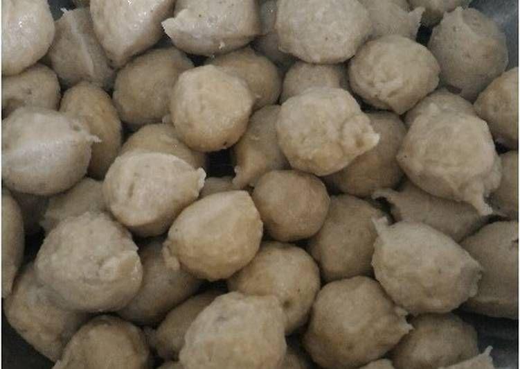 Resep Bakso Sapi Kenyal Tapi Lembut Oleh Laily Agustien Ummifaizfaqih Resep Makanan Bakso Resep